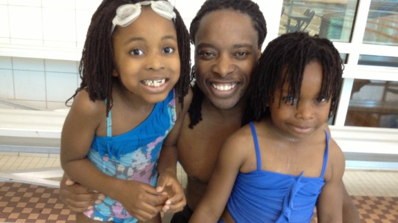 Doctoral student and father of two Omekongo Dibinga says most dads he knows are involved parents. Yet the stereotype of the hapless dad persists. (Read his story.)