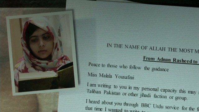 Taliban pen letter to Malala