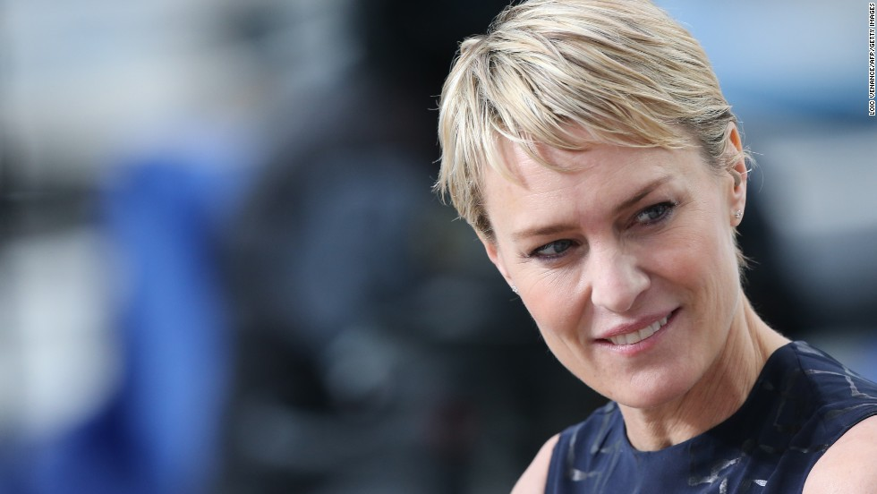"Outstanding lead actress in a drama series: Robin Wright, ""House of Cards"""