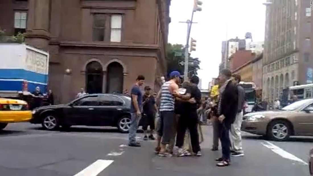 "Ryan Gosling made his fans swoon when <a href=""http://www.youtube.com/watch?v=gauLLAR7njY"" target=""_blank"">he stepped in to break up a fight</a> in the streets of New York in August 2011. The next year, <a href=""http://gawker.com/5899046/ryan-gosling-saved-me-from-a-speeding-car-but-theres-war-in-the-middle-east-so-everyone-calm-down"" target=""_blank"">he was credited</a> with saving a woman from walking in front of a speeding car in the Big Apple."
