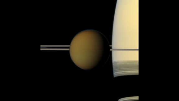 Cassini snapped this picture of Saturn