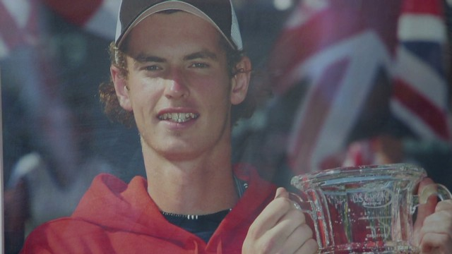 Andy Murray inspires Scottish hometown