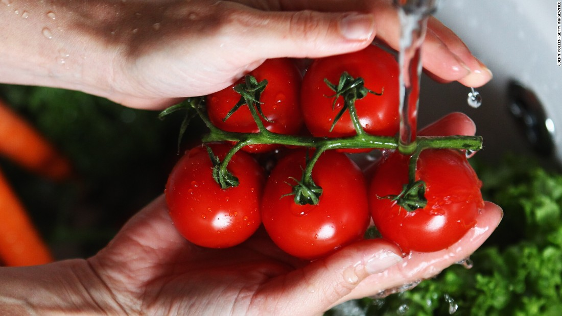 Tomatoes, ninth among the dirty dozen, showed four pesticides on average, while a single sampled showed a variety of pesticides.