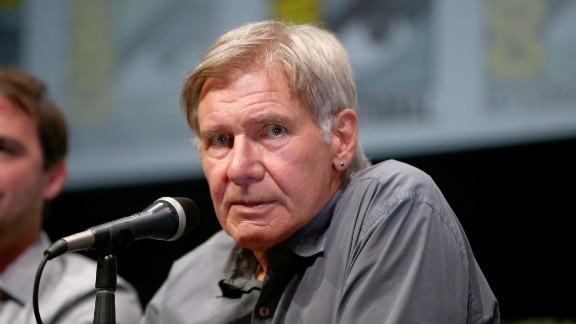 """Actor Harrison Ford said he wasn't concerned about """"Ender's Game"""" author Orson Scott Card's views on gay marriage."""