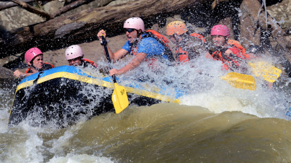 The Boy Scouts' BMI policy is meant to ensure safety during intense activities like white water rafting, a spokesman said.
