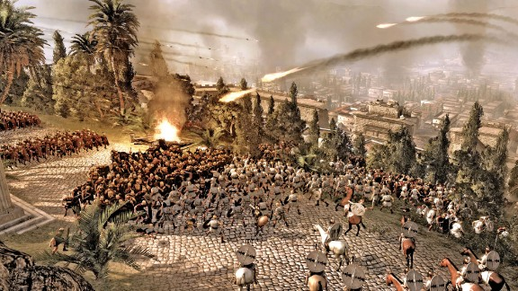 This sequel to the popular PC game immerses players in epic battles from the days of the Roman empire. The game's intuitive nature means that even novices can command huge battlefields, moving from skirmish to skirmish with the click of a mouse.