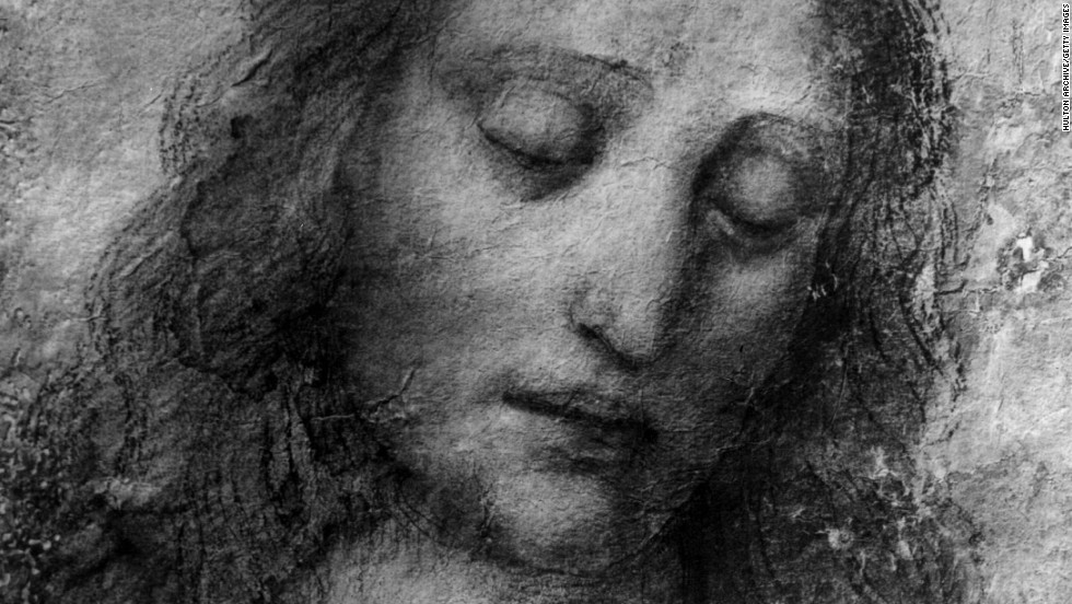 "Jesus was also called the ""Man of Sorrows,"" an emotion captured here by Leonardo da Vinci."