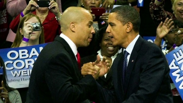 Cory Booker: Obama spoke from the heart