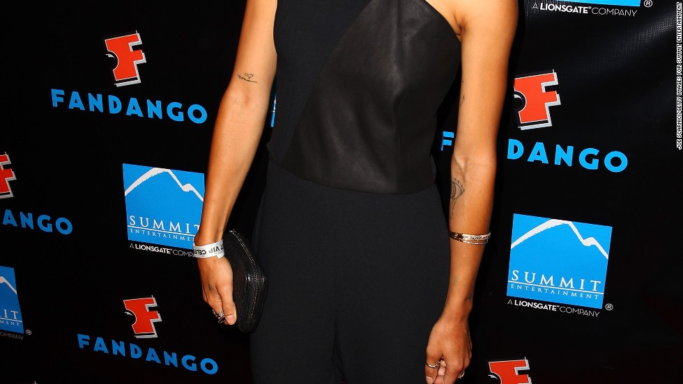 Actress Zoe Kravitz attends a party at San Diego Comic-Con on July 18.