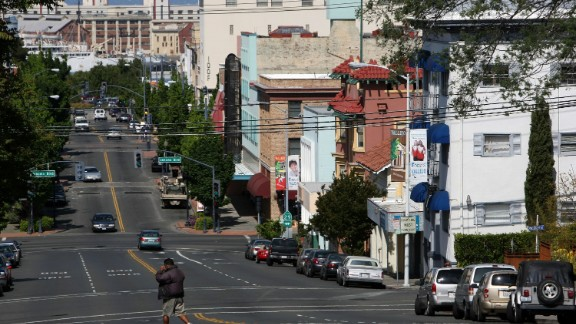 The Vallejo, California, city council voted overwhelmingly in 2008 to file for bankruptcy after the housing slump devastated the town