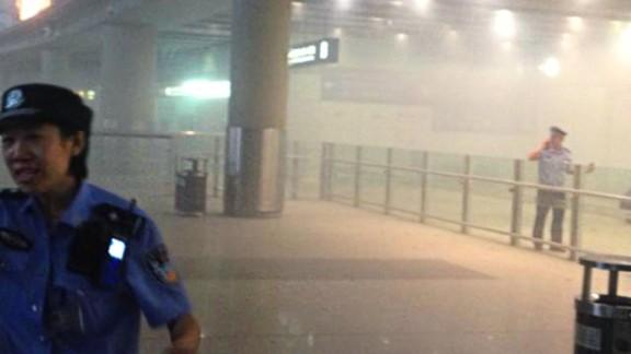 Smoke fills Beijing