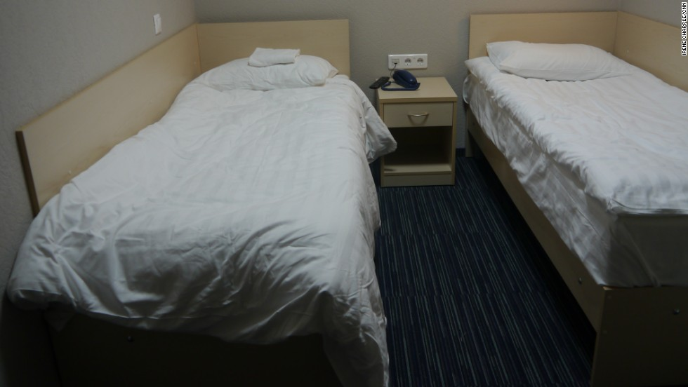 The Capsule Hotel's rooms come in simple shades of green and blue, with basic beds offering respite for tired travelers. Is Snowden's accommodation similarly low-key? He's looked pretty well rested in his rare media appearances while in Moscow.