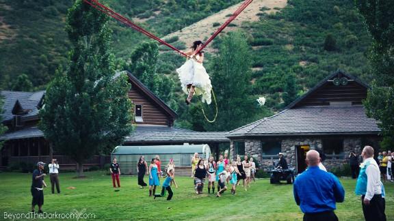 Natasha Johnson updates a wedding tradition.