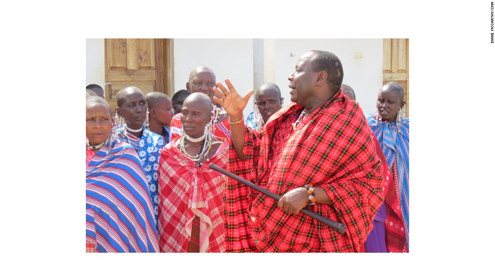 Martin Saning'o Kariongi (right), a respected Maasai elder in northern Tanzania, has made it his life's mission to save his people's way of life whilst helping them adapt to a changing world.