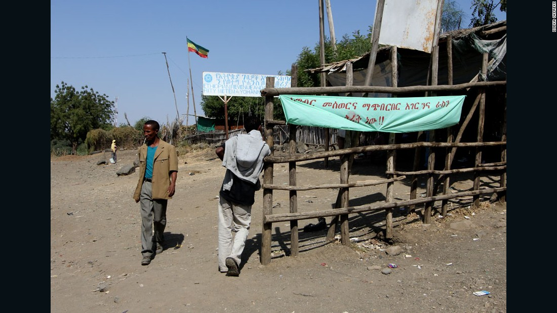 """Crossing the Lines"" - Matema border, Ethiopia, 2011."