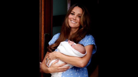 "A Kensington Palace spokesman said, ""Mother, son and father are all doing well this morning."""