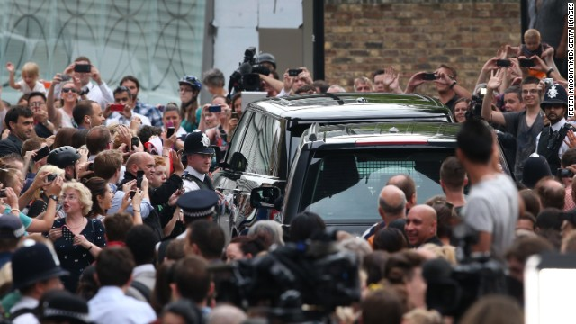 Royal baby media frenzy