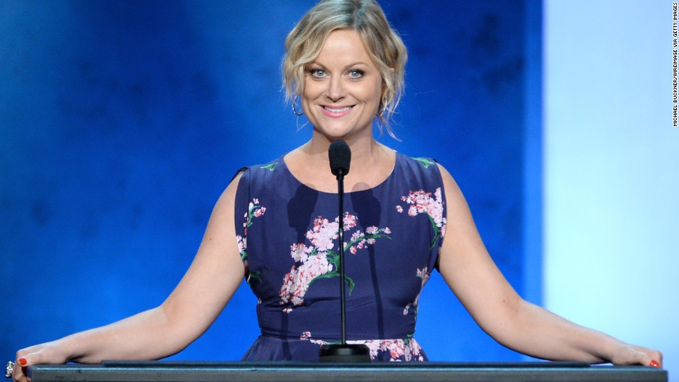 "Comedian Amy Poehler, a former SNL cast member and the star of the ""Parks and Recreation,"" grew up in Burlington, Massachusetts. In a 2011 commencement speech at Harvard University, she joked: ""I graduated from Boston College, which some call 'The Harvard of Boston.'"""