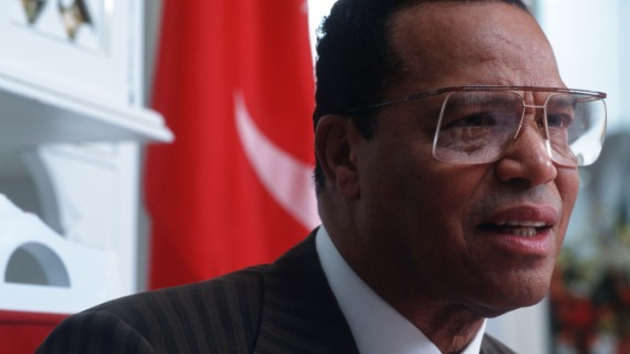 Louis Farrakhan founded the reorganized Nation of Islam, which adheres to the teachings of Elijah Muhammad. (Photo by Jean-Marc Giboux/Liaison)