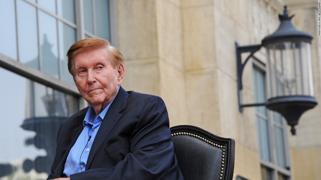 Sumner Redstone is the owner of National Amusements, Inc., the parent company of Viacom and CBS Corp. The media magnate was born in Boston and graduated from Harvard University. He has a star on the Hollywood Walk of Fame, and was ranked number 225 on the Forbes 400 List of the World's Billionaires in 2015.