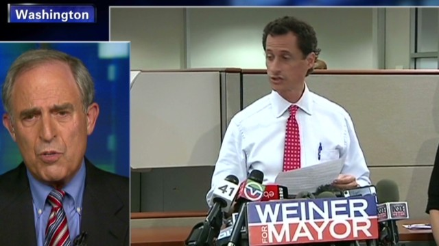 Anthony Weiner's latest gaffe
