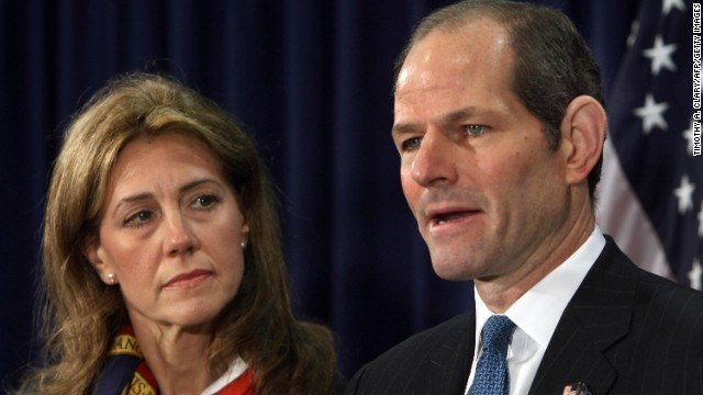 Eliot Spitzer and his wife announce the end of their marriage
