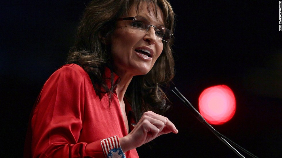 """Lou Sarah"" -- In 2010, the Wonkette blog reported that former Alaska Gov. Sarah Palin had apparently created a second Facebook account under the assumed name, then liked things on Palin's page. Palin's middle name is Louise."