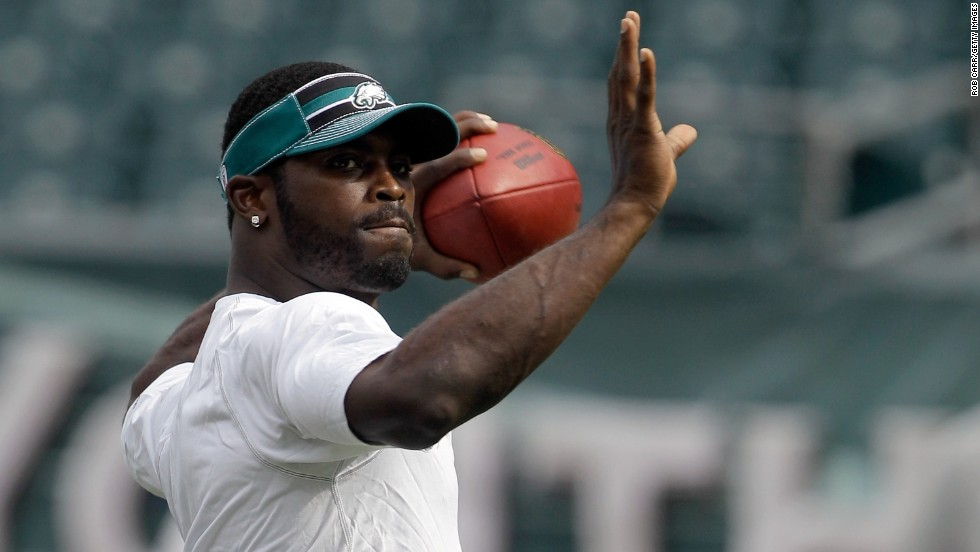 """Ron Mexico"" -- In 2005, The Smoking Gun reported that a woman suing NFL star Michael Vick for allegedly giving her herpes said he used the alias for testing. The suit was settled before the dog-fighting scandal that led to his serving prison time."