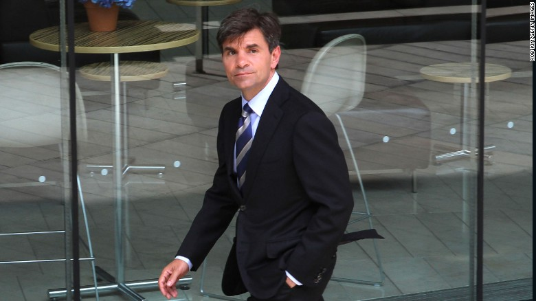 See Stephanopoulos apologize for not revealing gifts