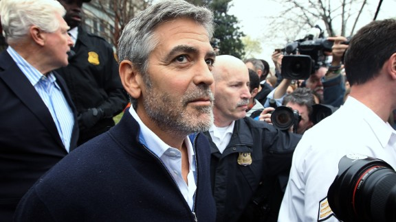 George Clooney: Oscar-winning actor, film director, producer and two-time winner of People magazine's Sexiest Man Alive.