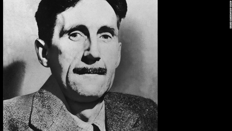 "George Orwell: OK, actually his name is Eric Arthur Blair, but he published one of the more famous dystopian novels,""1984,"" under his pen name, so we'll give it to him."