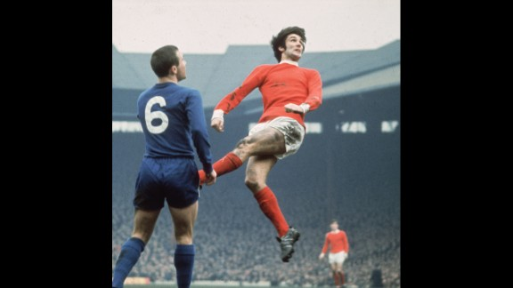 George Best: Irish soccer player with a European Cup title under his (stylish) belt. Some say he