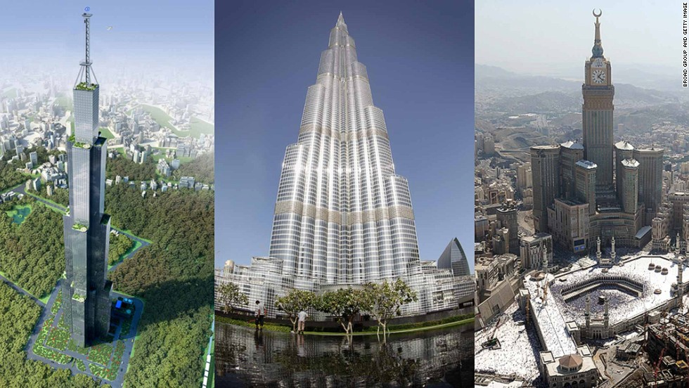 Sky City China World S Tallest Building Breaks Ground Cnn Travel