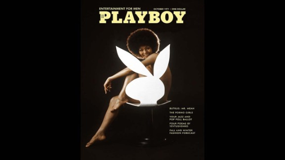In October 1971, American model Darine Stern made history by becoming the first black woman to appear by herself on the cover of Playboy. It was considered controversial at a time when black women rarely graced the covers of major magazines. The iconic image went on to inspire Playboy's November 2009 cover that featured Marge Simpson as the magazine's first cartoon cover model.
