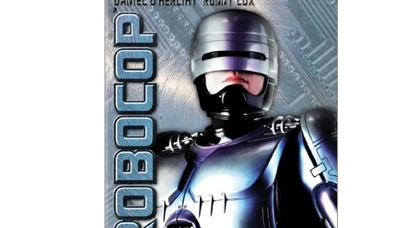 """Set in a futuristic Detroit plagued by financial ruin and economic decay, """"RoboCop"""" -- made in 1987 -- relates how a no-nonsense cyborg law enforcer ends up policing the city"""