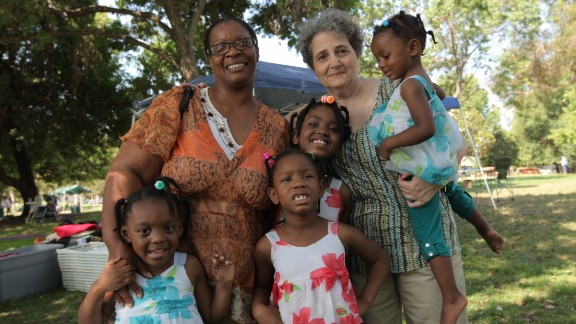 Sylvie de Toledo also assists aunts, uncles, siblings and close friends who are raising other people's children.