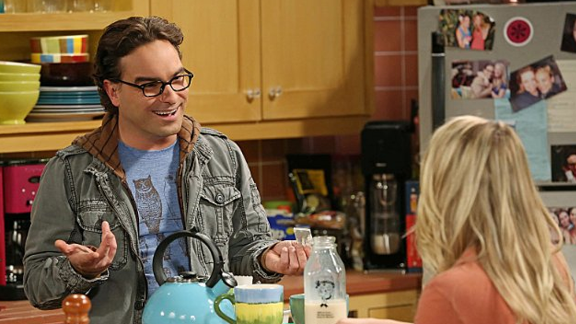 """""""Roseanne"""" alum Johnny Galecki stars as Leonard Hofstadter, Sheldon's long-suffering roommate and the love interest of Penny (Kaley Cuoco). He is a physicist."""