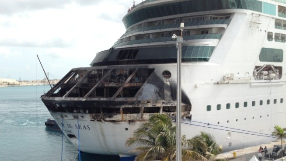 On Memorial Day 2013, a fire aboard Royal Caribbean's Grandeur of the Seas cut short a seven-day cruise to Port Canaveral, Florida, and the Bahamas. The ship changed its course and sailed under its own power to Freeport in the Bahamas.