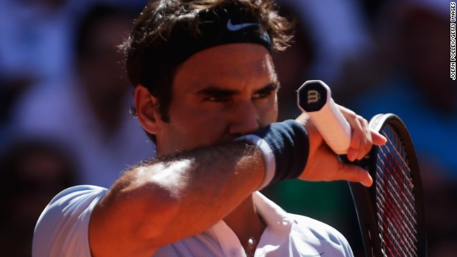 Roger Federer suffered another clay court reverse as he went out in the second round in Gstaad.