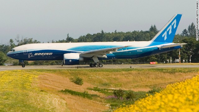 Boeing discovered in 2008 that it had been using fasteners on the 777 that did not meet FAA standards.
