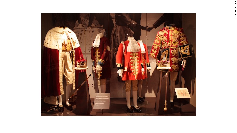 Robes worn by male members of the royal family.