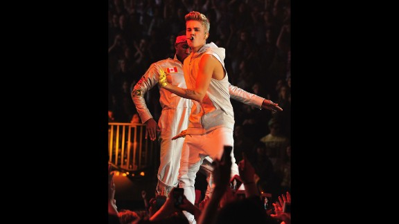 Justin Bieber fills the Garden with thousands of screaming fans in November 2012.
