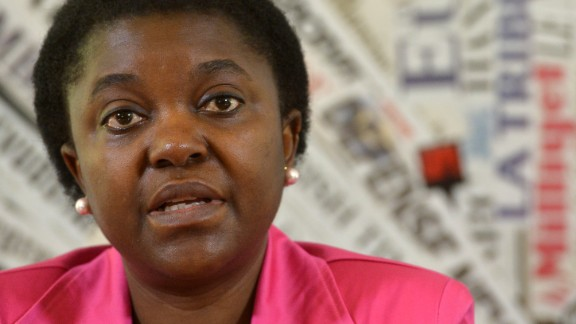 Integration Minister Cecile Kyenge -- pictured in June -- is Italy