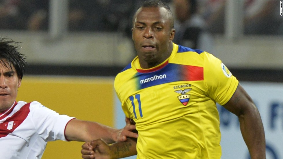 Ecuadoran Football Player Christian 'Chucho' Benitez Dies