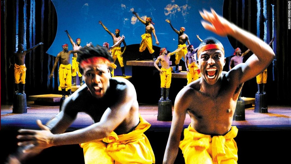 The show celebrates South Africa's rich musical history through a variety of song and dance genres.
