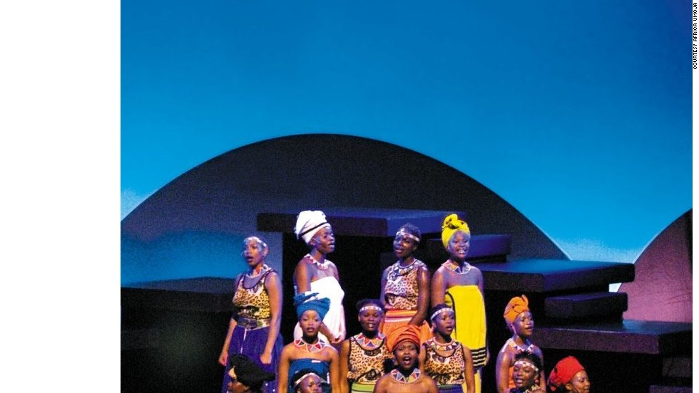 Africa Umoja has toured nearly 50 countries since 2001, and recently began its first tour of the United States.