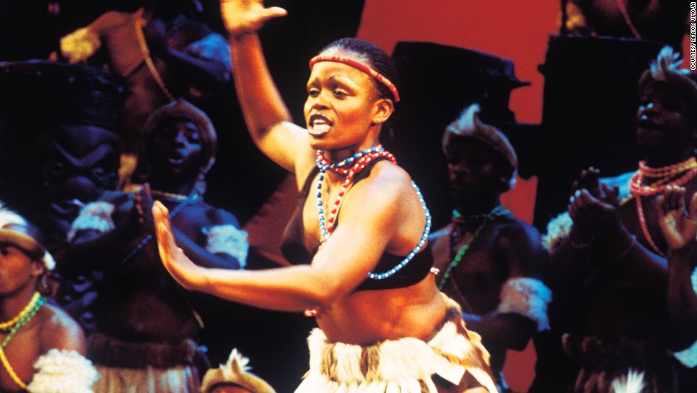 There are around nine different languages featured in the show, which represents South Africa's diversity.