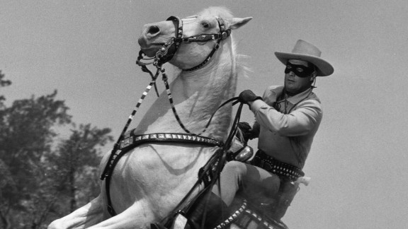 """One of the most famous Lone Rangers was actor Clayton Moore, who appeared in the TV series throughout the 1950s. Reeves is certainly not the first Wild West lawman credited as the inspiration behind the fictional character. A 1915 book, """"The Lone Star Ranger,"""" was dedicated to real-life Texan Ranger John R. Hughes."""