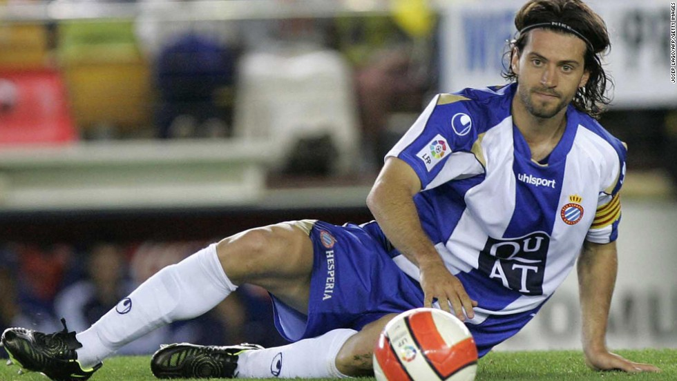 Former Espanyol captain Daniel Jarque died after suffering a cardiac arrest following a training session in Italy in 2009. Club doctors and paramedics tried to revive Jarque but without success. He was 26.