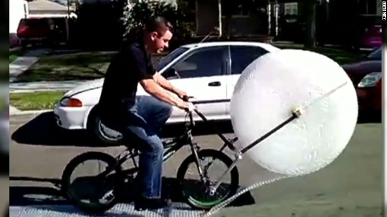 Bubble wrap as you've never seen before